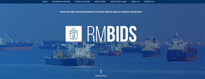 RMBIDS - Website - Marine Equipment Auctions